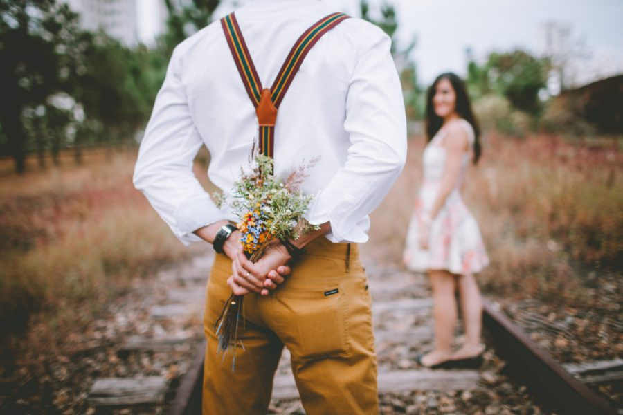 adult-blur-bouquet-boy-236287